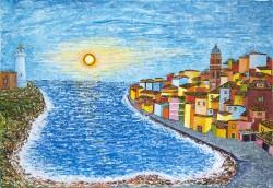 Un-tramonto-a-S-Felice-Circeo-G